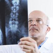 Radiologist at work — Foto de Stock