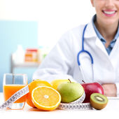 Nutritionist Doctor — Stock Photo