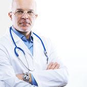 Senior doctor portrait — Stock Photo