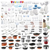 Kitchen utensils set — Stock Photo
