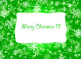 Green Christmas Background. — Stock Photo