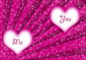 Valentine dag achtergrond — Stockfoto