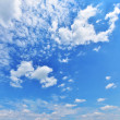 Summer sky — Stock Photo