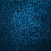 Blue leather — Stock Photo