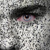Granite man face — Stock Photo