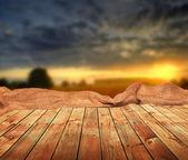 Prázdná tabulka — Stock fotografie