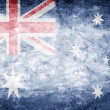 Australia flag — Stock Photo
