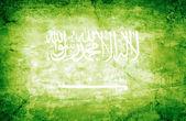 Bandiera arabia saudita — Foto Stock
