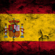 Grunge flag of Spain — Stock Photo