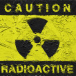 Radioactive symbol — Stock Photo