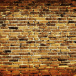 verwitterte gefärbten old brick wall background — Lizenzfreies Foto