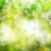 Abstract background green bokeh circles — Stock Photo