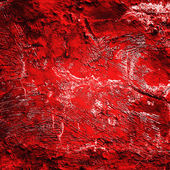 Grunge red wall background or texture — Stock Photo