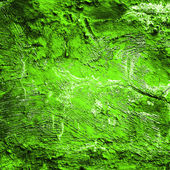 Very old green grunge wall background — Stock Photo