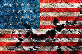 Grunge USA flag theme background — Stock Photo