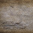 Old linen texture — Stock Photo