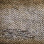 Old linen texture — Stock Photo