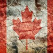 Grunge flag of Canada — Stock Photo #30419819