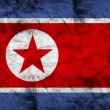 North Korea Flag — Stock Photo #30420233