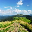 Mountains Bieszczady. Poland. National Park. Tarnica hill. — Stock Photo