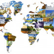 World map — Stock Photo #30435945