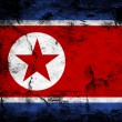 North Korea Flag — Foto Stock