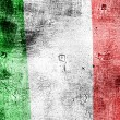 Grunge flag of Italy — Stock Photo
