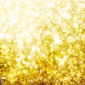 Fondo de oro defocused bokeh — Foto de Stock