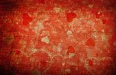 Grunge kärlek bakgrund — Stockfoto