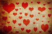 Grunge láska pozadí — Stock fotografie