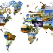 World map — Stock Photo #30565323