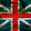 Stockfoto: Grunge british flag