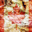 Stock Photo: An old grunge flag of Canada