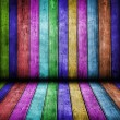 Stock Photo: Color wood background