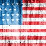 Grunge USA flag background — Stock Photo