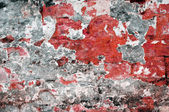 Grunge red wall texture — Stock Photo