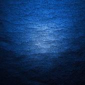 Natural qualitative blue leather texture. — Stock Photo