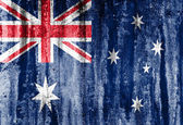 Australia grunge flag background — Stock Photo