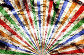 Grunge colorful stripes background — Stock Photo