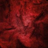 Textura de couro vermelho ou fundo — Fotografia Stock