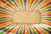 Multicolor Sunbeams grunge background. — Stock Photo