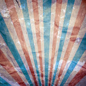 Blue, white and red stripes vintage background — Stock Photo