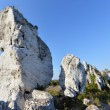 Stock Photo: Limestone rocks