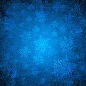 синий рождественские бумага — Стоковое фото