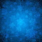 Carta natale blu — Foto Stock