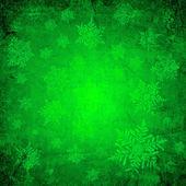 绿色圣诞纸 — 图库照片