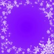 Stock Photo: Purple christmas background