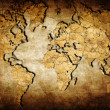 Stock Photo: Earth map