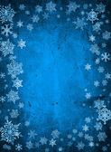 Modrý Vánoční pozadí — Stock fotografie