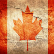 Canada flag — Stock Photo